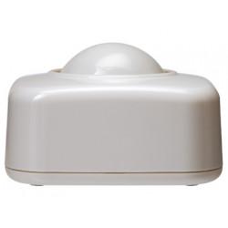 Portaclips qconnect con bola dispensadora giratoria plastico blanco