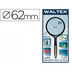Lupa cristal bifocal 62 mm mango curvo bl/1 blister 1