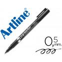 Rotulador artline para cd punta de fibra permanente ek883 negro 05 mmbli