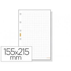 Recambio agenda finocam 1000 cuadricula 155x215 mm