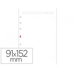 Recambio agenda finocam 400 liso blanco 91x152 mm