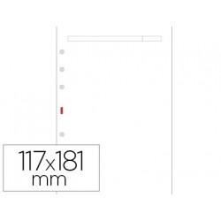 Recambio agenda finocam 500 liso blanco 117x181 mm