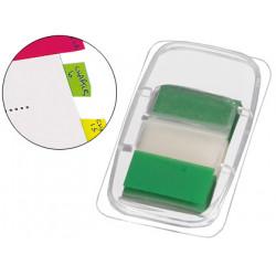 Banderitas separadoras qconnect verdes dispensador de 50