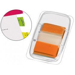 Banderitas separadoras qconnect naranjas dispensadorde 50