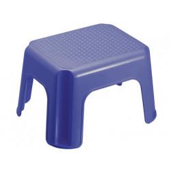 Taburete offisys apilable 4 patas 1 nivel azul