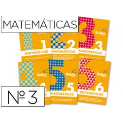 Cuaderno rubio matematicas evolucion nº 3