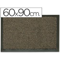 Alfombra fastpaperflow antipolvo gris basic 60x90 cm