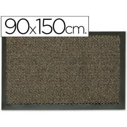 Alfombra fastpaperflow antipolvo gris basic 90x150 cm