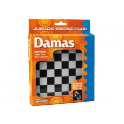 Juegos de mesa damas magnetico 20x161x24