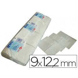 Servilleta mini servis blanca 9x122 cms paquete de 400 1 capa