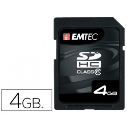 Memoria emtec flash sd 4gb 133x hc