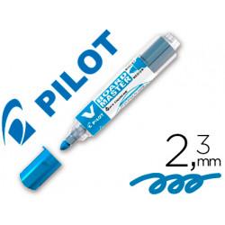Rotulador pilot vboard master para pizarra blanca azul tinta liquida trazo