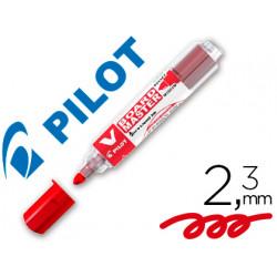 Rotulador pilot vboard master para pizarra blanca rojo tinta liquida trazo