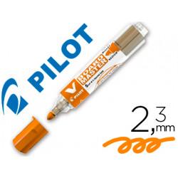 Rotulador pilot vboard master para pizarra blanca naranja tinta liquida tra