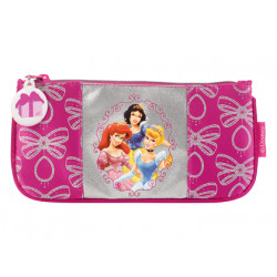 Bolso escolar portatodo plano safta princess royal 20x6 cms