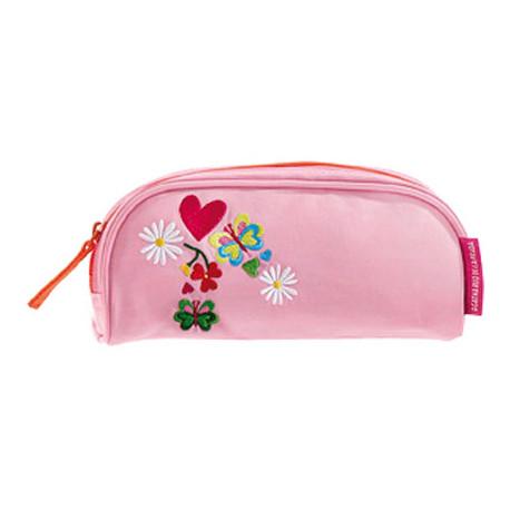 Bolso portatodo semicircular agatha ruiz de la prada love rosa 19x105x45