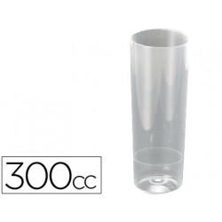 Vaso de tubo 300 cc paquete 10 unidades