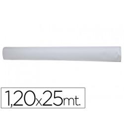 Mantel blanco en rollo 120x25 m