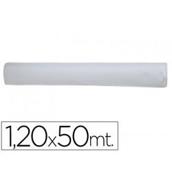 Mantel blanco en rollo 120x50 m