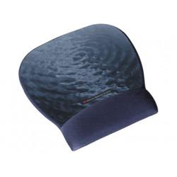 Reposamuñecas 3m para raton color azul motivo agua con superficie de precis