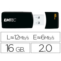 Memoria usb emtec flash 16 gb 20 emdesk