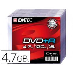 Dvdr emtec capacidad 47gb ve locidad 16x