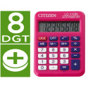 Calculadora citizen bolsillo lc110 8 digitos rosa