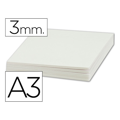 Carton pluma liderpapel doble cara din a3 espesor 3 mm