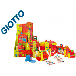 Giotto bebe expositor sobremesa multiproducto + set regalo stick color