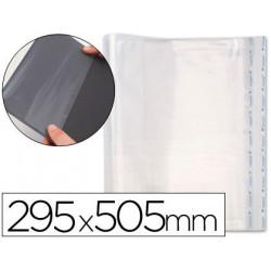 Forralibro pp ajustable adhesivo 295x505 mm