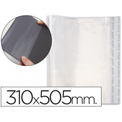 Forralibro pp ajustable adhesivo 310x505 mm