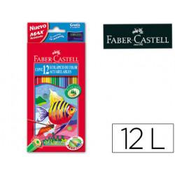 Lapices de colores fabercastell acuarelables c/ 12 surtidos