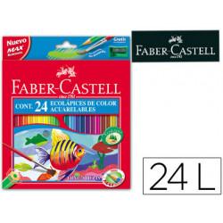 Lapices de colores fabercastell acuarelables c/ 24 surtidos