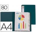 Carpeta liderpapel personaliza 31763 80 fundas polipropileno din a4 verde l