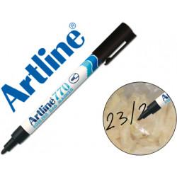 Rotulador artline marcador permanente ek770 negro punta redonda 1 mm en bl