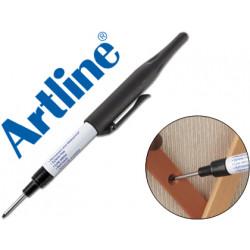 Rotulador artline marcador permanente ek710 negro punta redonda larga 1 mm