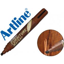 Rotulador artline marcador permanente ek95 furniture walnut nogal punta bi
