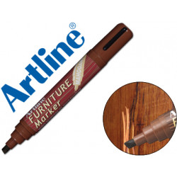 Rotulador artline marcador permanente ek95 furniture mahogany caoba punta