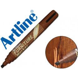 Rotulador artline marcador permanente ek95 furniture oakroble punta bisel
