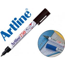 Rotulador artline marcador permanente ek750 negro punta redonda 07 mm en