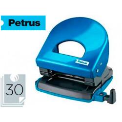 Taladrador petrus 62 wow azul metalizado capacidad 30 hojas