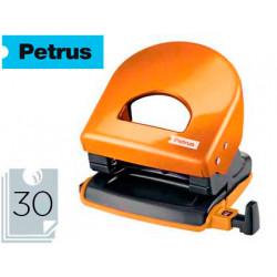 Taladrador petrus 62 wow naranja metalizado capacidad 30 hojas