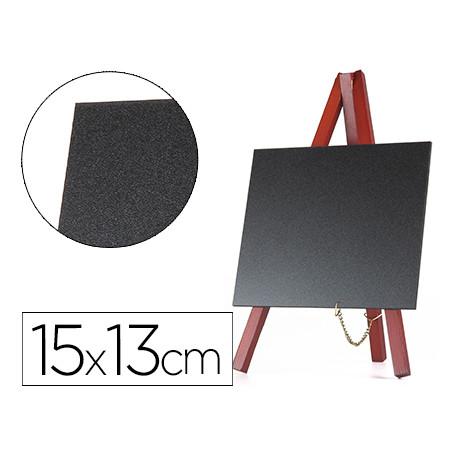 Pizarra negra liderpapel caballete madera superficie para rotuladores tipo
