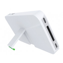 Soporte leitz sobremesa para iphone 4/4s color blanco 201x81x271 mm