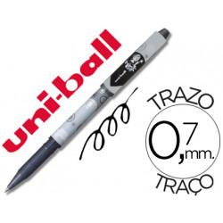 Rotulador uniball roller magik girl uf109 borrable 07 mm negro