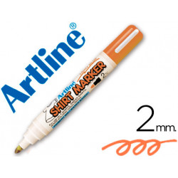 Rotulador artline camiseta ekt2 naranja fluorescente punta redonda 2 mm pa