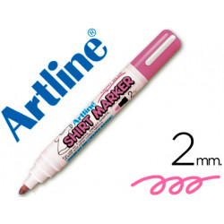 Rotulador artline camiseta ekt2 rosa fluorescente punta redonda 2 mm para