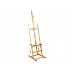 Caballete pintor artist estudio madera 51x60x180 cm