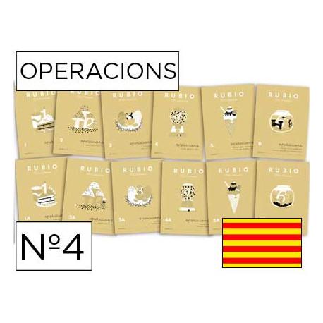 Cuaderno rubio operacions nº4 catalan