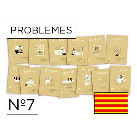 Cuaderno rubio problemes nº 7 catalan